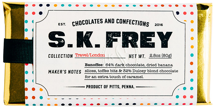 Travel Collection | S  K  Frey Chocolates & Confections